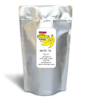 Organic Just Banana Powder